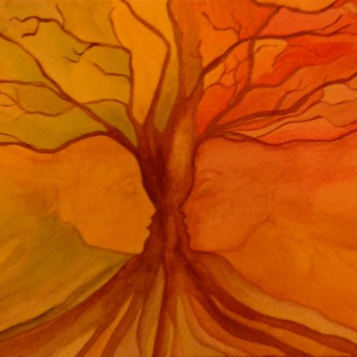 Obra cedida pela pintora Paula Fernandes para o site da APGestalt. Obrigado!